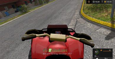 Квадроцикл для Farming Simulator 2017