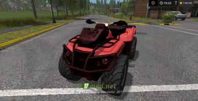 Мощный квадроцикл для Farming Simulator 2017