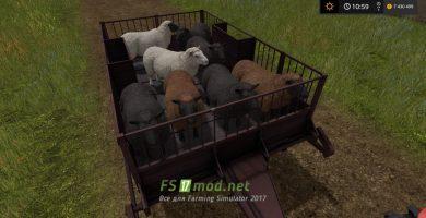 TT-1: мод прицепа для перевозки животных