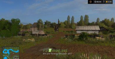 Русские села в игре Farming Simulator 2017