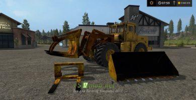 Мод погрузчика K-701 PKU для игры Farming Simulator 2017