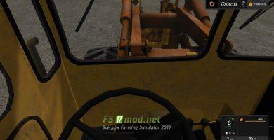 Мод погрузчика для FS 2017 на базе трактора K-701