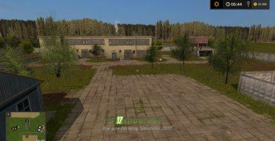 Карта с русским колхозом для Farming Simulator 2017