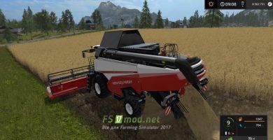 Русский комбайн для игры Farming Simulator 2017