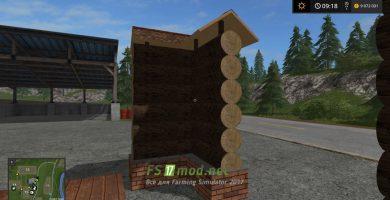 Мод на деревянный забор