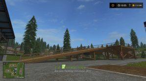 Платформа для погрузки щепы в Farming Simulator 2017