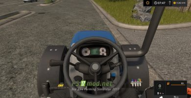 New Holland T4 75 Garden Edition для FS 2017