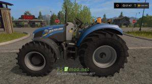 Мод трактора New Holland без кабины для FS 2017