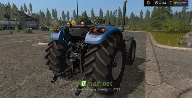 Трактор без кабины для Фермер Симулятор 2017