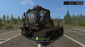 Мод трактора для склонов