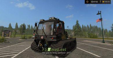 Мод трактора PISTENBULLY для FS 2017