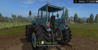 Мод на трактор Dutra D4K-B