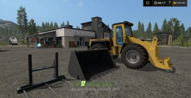 Hanomag 55D для Farming Simulator 2017