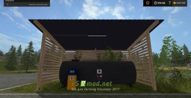 Мод YY Gas Station Placeable