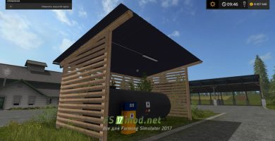 Gas Station Placeable FS 2017