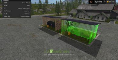 Мод на заправку с освещением для Farming Simulator 2017