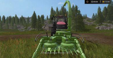 Навесной силосный комбайн для Farming Simulator 2017