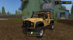 Мод автомобиля Landrover Defender Dakar
