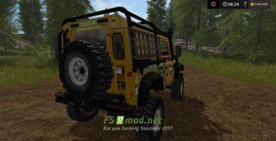 Landrover Defender Dakar для FS 17