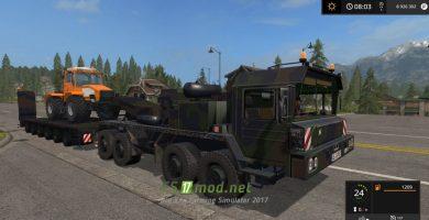 Тягач Army Truck для игры Farming Simulator 2017