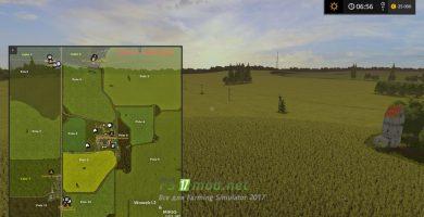Схема карты Agro Farm