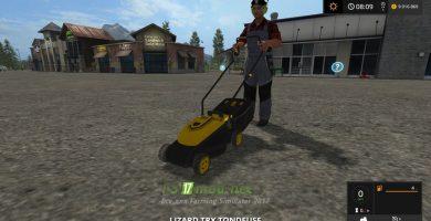 Lizard TRX Tondeuse для Farming Simulator 2017