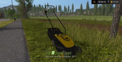 Мод газонокосилки для Farming Simulator 2017