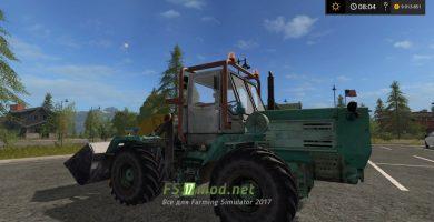 Мод трактора T-150K (TO-25)
