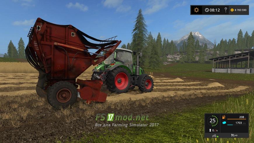 скачать мод тюкопресс для farming simulator 2017