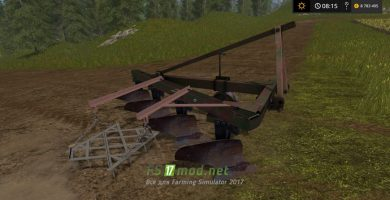 Мод на советский плуг для Farming Simulator 2017