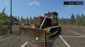 бульдозер Т-130 для Farming Simulator 2017