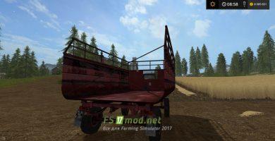 Прицеп для соломы в Farming Simulator 2017