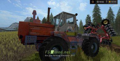 T150K mods FS 17
