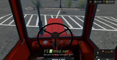 Скриншот мода трактора Т-25