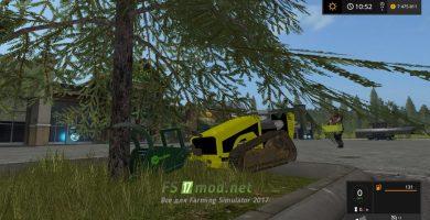 Мод пилы для Farming Simulator 2017