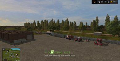 «Коровино» для игры Farming Simulator 2017
