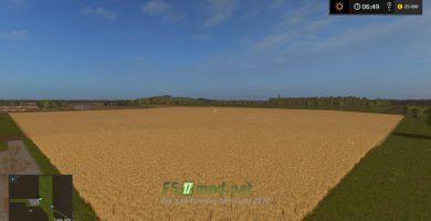 Карта с большими полями для Farming Simulator 2017