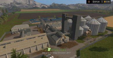 Заводы на карте Dary Kavkaza