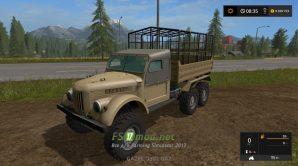 ГАЗ-69 для перевозки животных в игре FS 2017