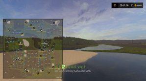 Схема карты Svapa Agro