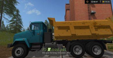 Kraz 6510 mods