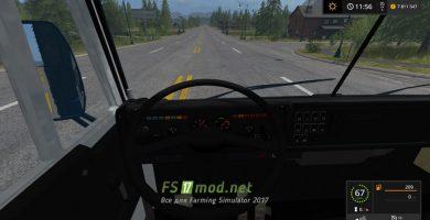 Мод КамАЗ 5320 для FS 2017