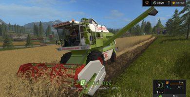 CLAAS DOMINATOR 88S для Farming Simulator 2017