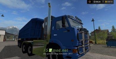 kamaz 65116 pricep