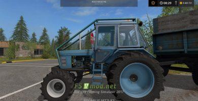 Мод лесного трактора МТЗ 82