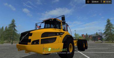 VOLVO EC300E & A40 mods