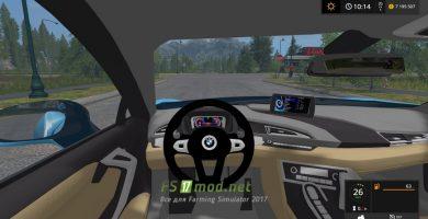 BMW i8 mods