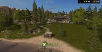 Pine Cove Farm map