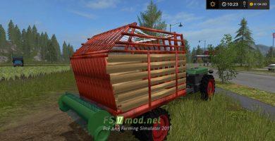 Мод на мини трактор