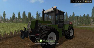 Мод Progress ZT323 SB для FS 17